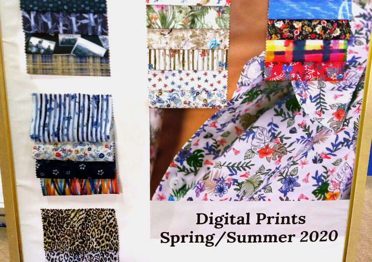 Tendencias de la tela para primavera y verano 2020